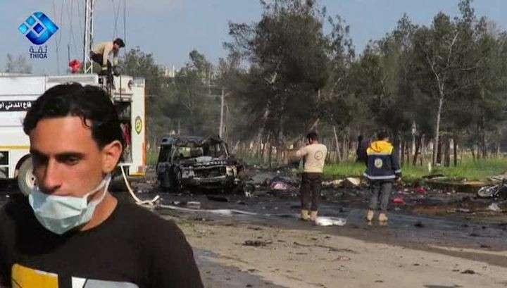 Сирия: видео момента теракта выложили в сеть