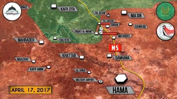Сирия, Хама: правительственная армия отбила все потерянные территории