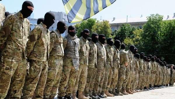 На Майдан возвращаются батальоны с фронта