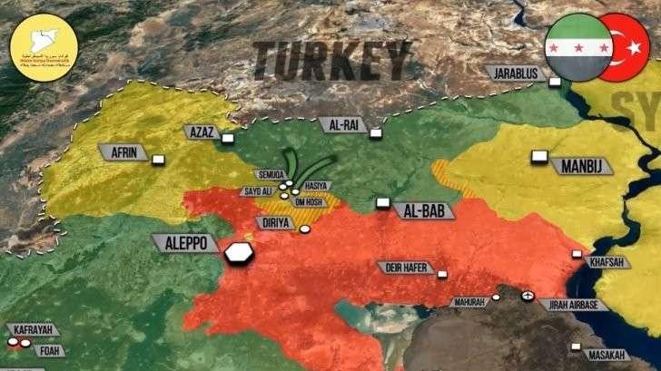 Сирия: турки и курды в Алеппо вцепились друг в друга