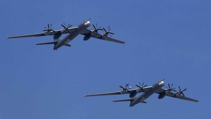 Русские Ту-95 «поздравили» Дональда Трампа с «годовщиной» победы на выборах США