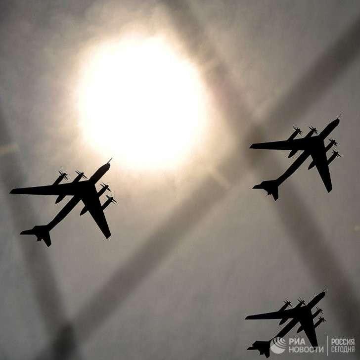 NORAD отметил профессионализм русских пилотов после пролета Ту-95 у Аляски