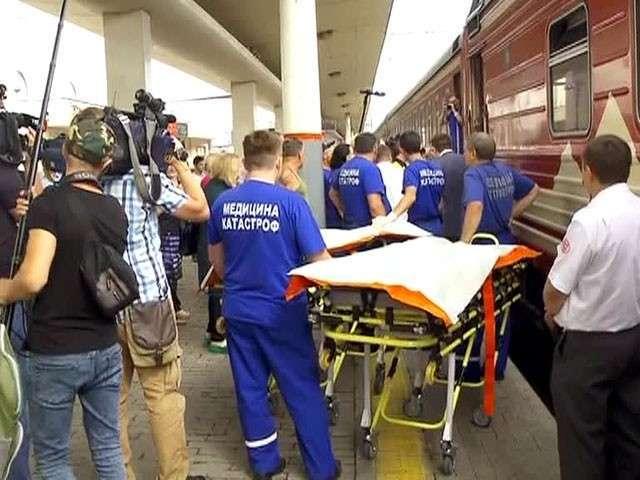 Тяжелобольных детей из Донбасса привезли на лечение в Москву