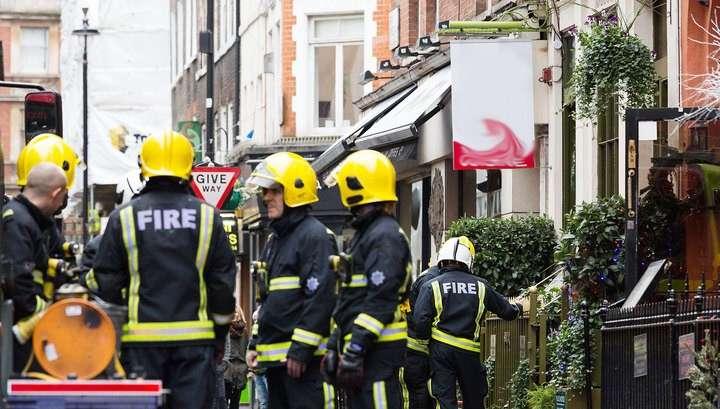 В Лондоне прогремел взрыв, пострадали два человека