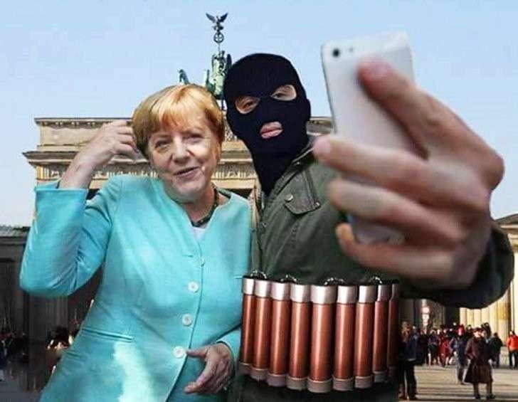 Европейцы смело отвечают террористам нарисованными сердечками