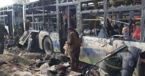 Взрыв автобусов в Алеппо: ктостоял за подлым убийством детей?