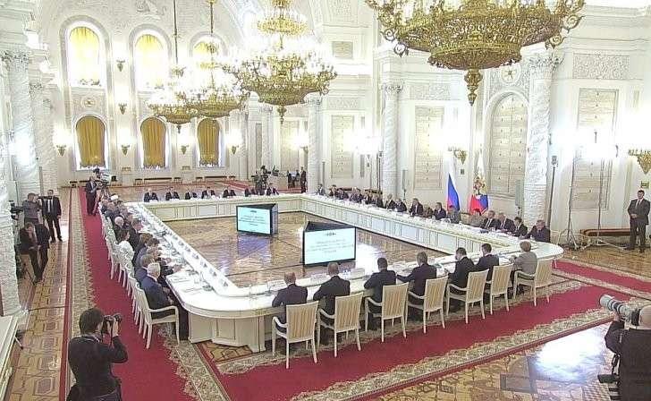 Владимир Путин провёл заседание оргкомитета «Победа»