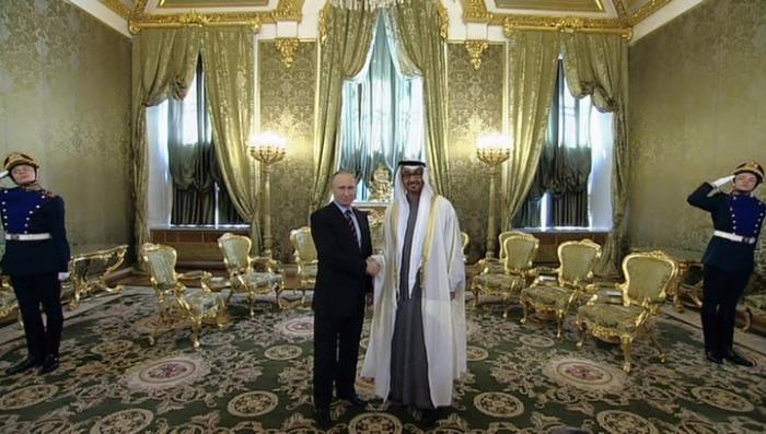 Владимир Путин и наследный принц Абу-Даби обсудили взаимодействие в борьбе с терроризмом