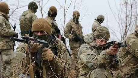 Диверсионная группа украинских карателей пыталась прорваться в ДНР