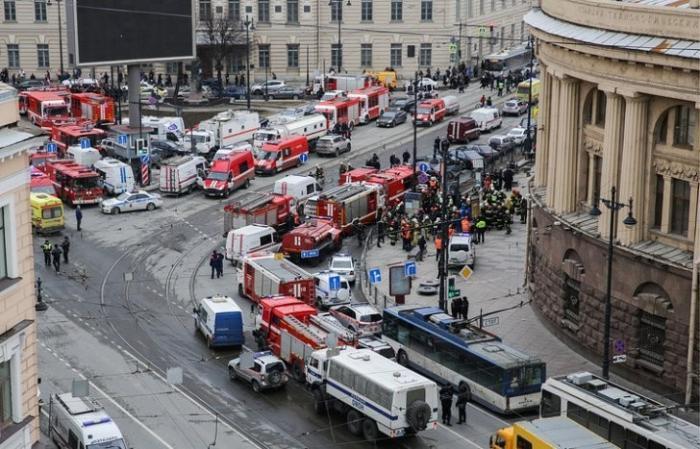 Теракт в метро Петербурга финансировался из Турции марионетками Мирового Правительства