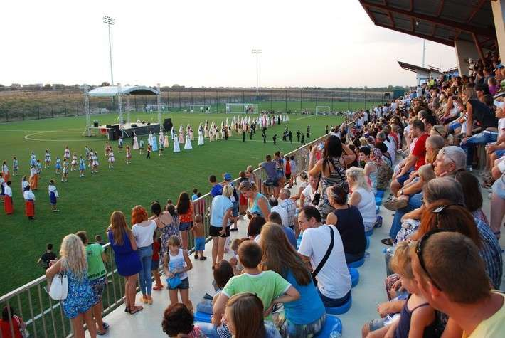 В Евпатории открылся спортивный комплекс «Арена-Крым»