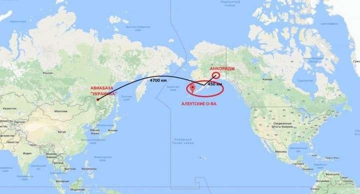 Зачем русские стратегические бомбардировщики в небе над Аляской?