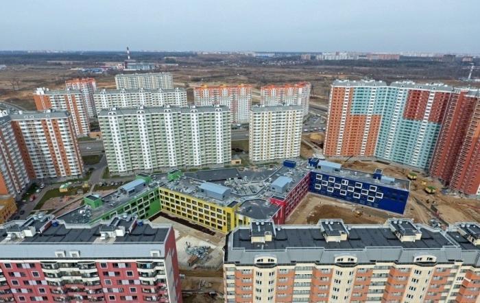 ВМоскве возводится новая экспериментальная школа на2100 мест