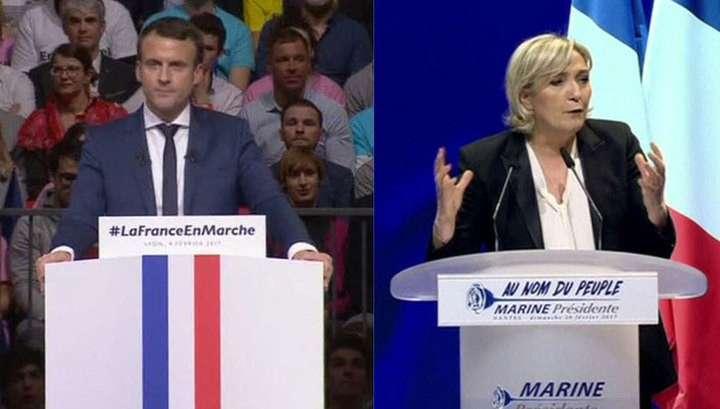 Франция, результаты выборов: Марин Ле Пен и Эммануэль Макрон выходят во второй тур