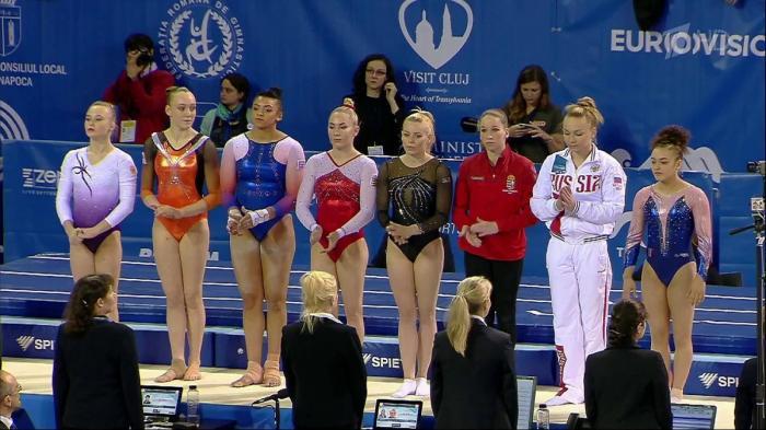 Сборная России по спортивной гимнастике стала триумфатором на чемпионате Европы
