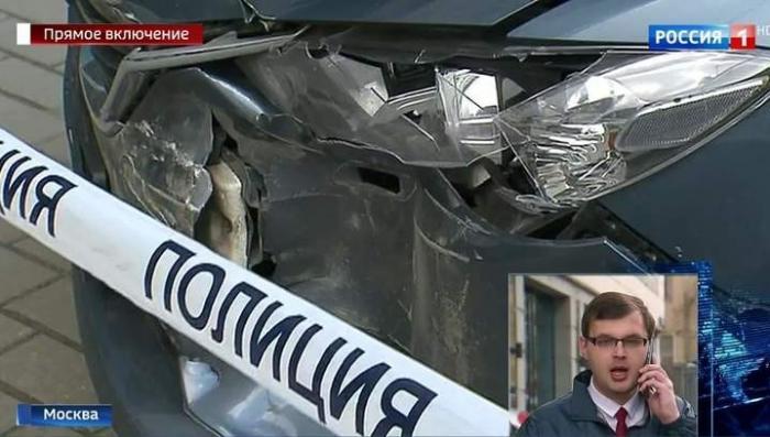 В центре Москвы грабители устроили погоню со стрельбой