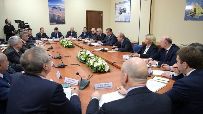 Встреча Владимира Путина спредставителями деловых кругов Ярославской области
