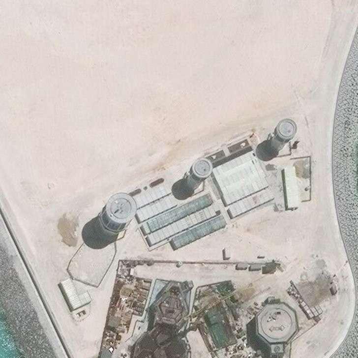 Китайцы переоборудовали риф Мисчиф в базу Военно-воздушных сил за два года
