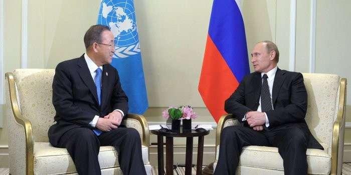 ООН просит Россию оказать гуманитарную помощь Украине