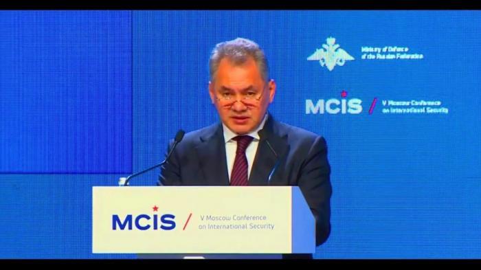 Шойгу и Лавров на V Московской конференции по международной безопасности