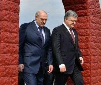 Порошенко и Лукашенко – дружба под реактором