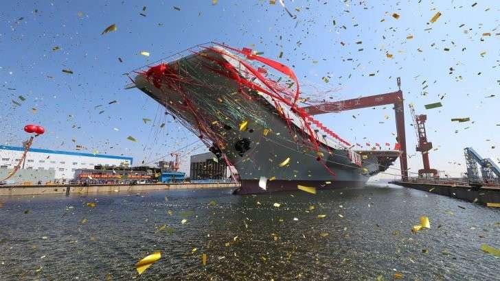 Китайский авианосец родня «Адмирала Кузнецова»: на что способен новый корабль