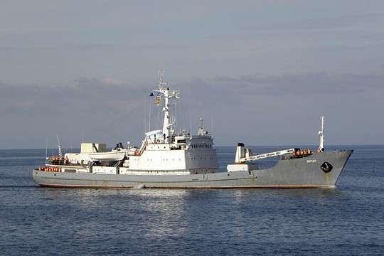 Российское разведывательное судно «Лиман» затонуло в Чёрном Море