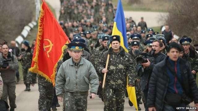 «Телевизионная армия» Украины: развал, предательство и позор