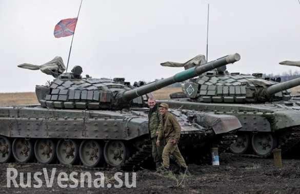 Учения танковых экипажей вДНР— зрелищные кадры (ВИДЕО) | Русская весна