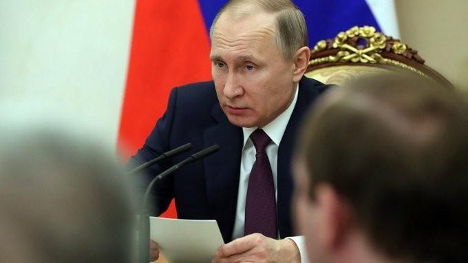 Владимир Путин провёл заседание Совета Безопасности по вопросам противодействия наркомании
