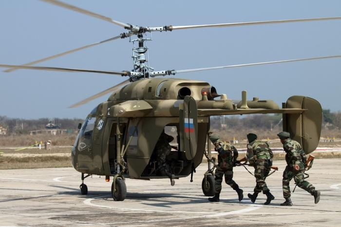Россия поставит Индии 200 вертолётовКа-226 общей стоимостью выше $1 млрд