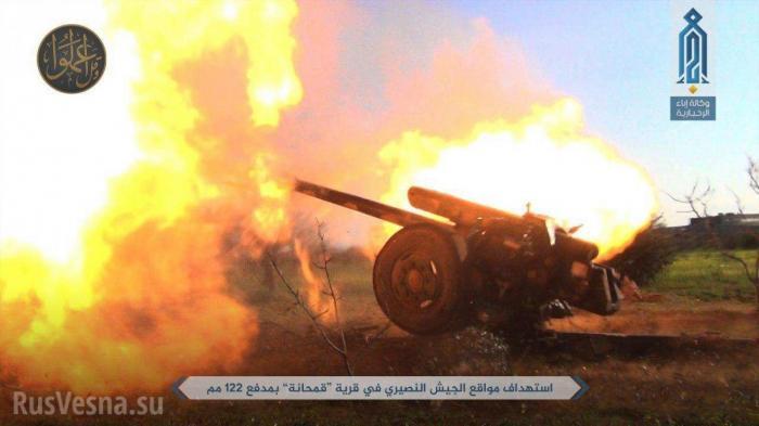 Сирия, Хама: ВКС РФ и «Тигры» уничтожили свыше 1000 боевиков
