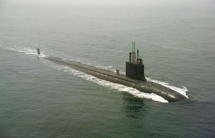 Подлодка класса Virginia ВМС США
