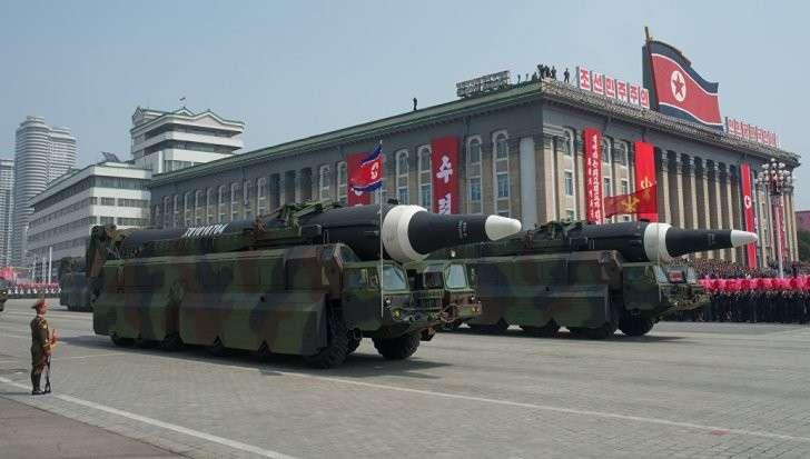 Запущенная Северной Кореей ракета не покидала территорию страны