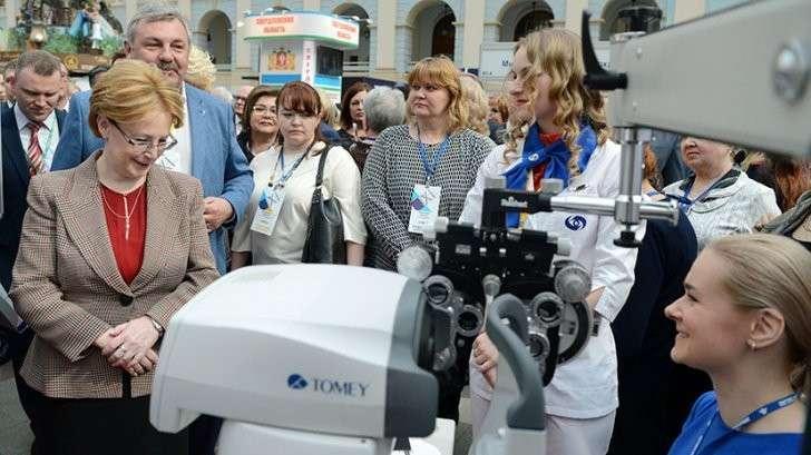 «В России есть специалисты экстра-класса», Вероника Скворцова