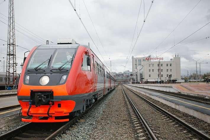 Налинии «Белгород— Нежеголь» начал рейсы новый рельсовый автобус РА-2