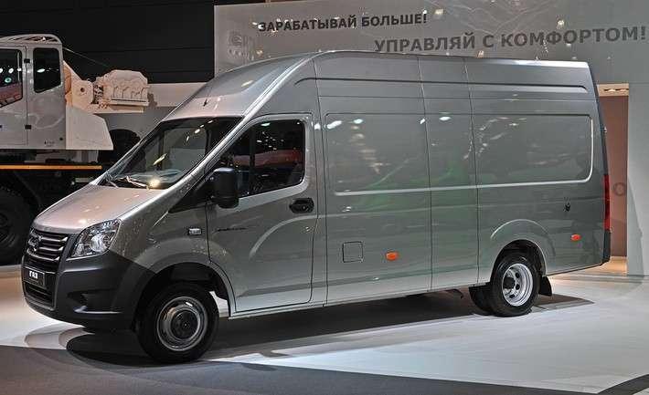 Фургон Газель Next стал победителем конкурса Автомобиль года вРоссии 2017