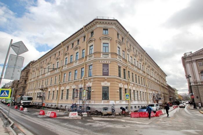 Петербург: новая отличная гостиница введена вэксплуатацию