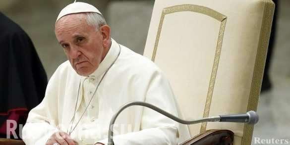 Папа Римский: над человечеством нависла угроза уничтожения. Папа нагнетает истерию | Русская весна