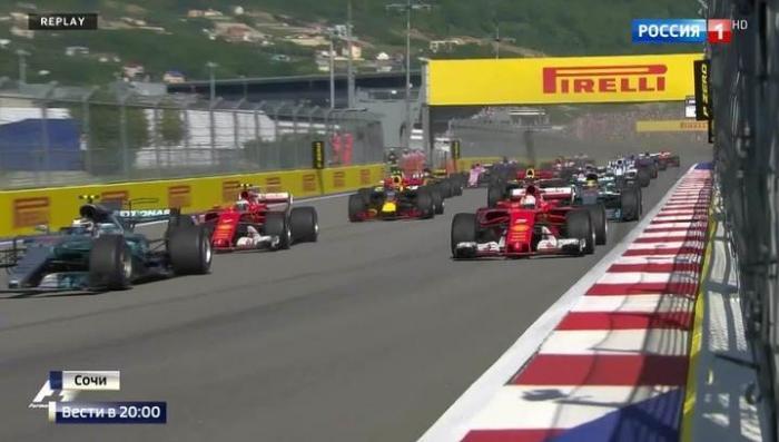 Сочи: море, горы, трасса: «Формула-1» восхитила и участников, и гостей