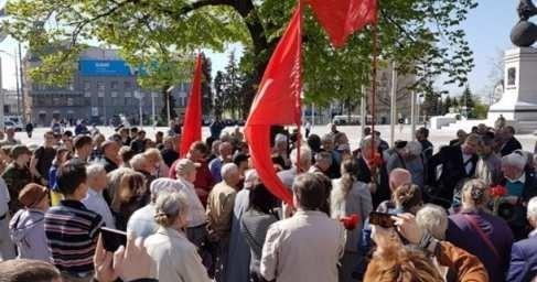 В Харькове и Виннице на первомайскую демонстрацию напали майданутые радикалы
