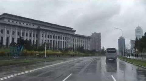 В интернет попало уникальное видео из КНДР