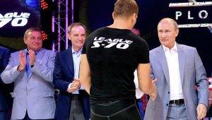 Владимир Путин посетил международный турнир по боевому самбо «Плотформа С-70»