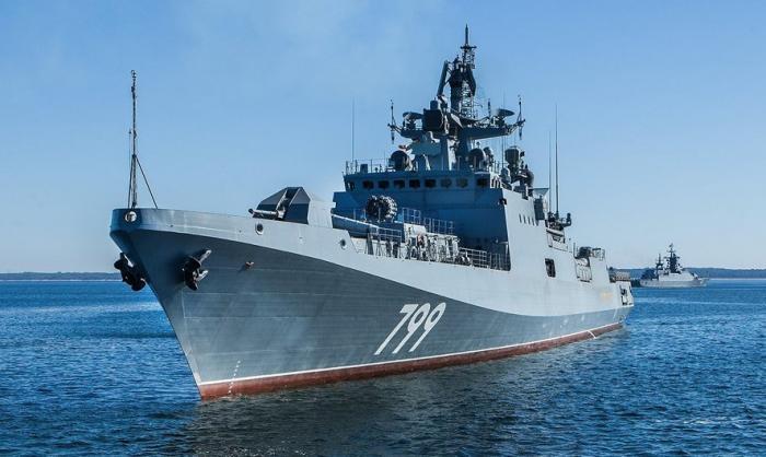 Уникальные кадры испытаний новейшего комплекса ПВО «Штиль-1» на фрегате «Адмирал Макаров»