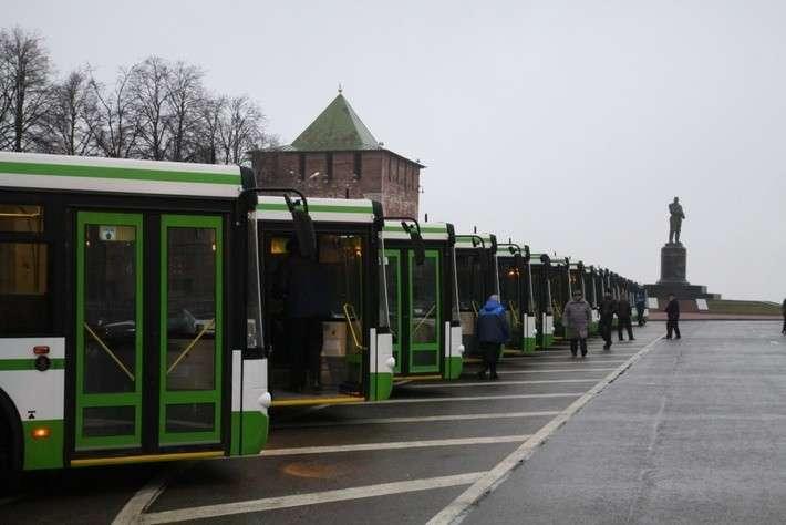 Автопарк Нижнего Новгорода пополнился 50 новыми автобусами ЛиАЗ