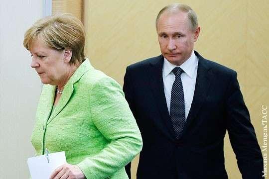 Сочи: Владимир Путин вынудил Ангелу Меркель прилететь на аудиенцию