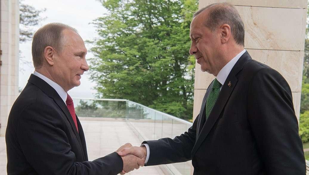 В Сочи началась встреча Владимира Путина и Реджепа Тайипа Эрдогана