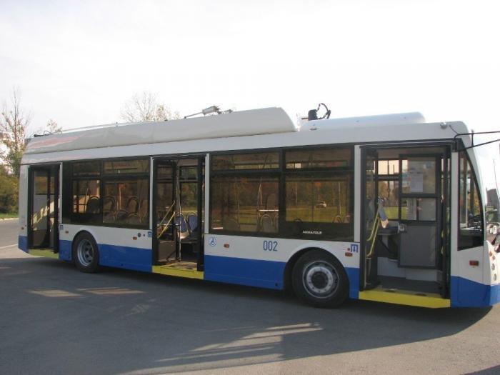 Крым получил 111 современных троллейбусов врамках программы лизинга