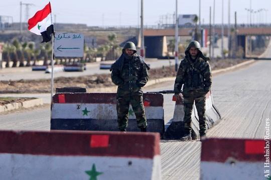 Башар Асад поддержал инициативу Владимира Путина о создании в Сирии зон безопасности