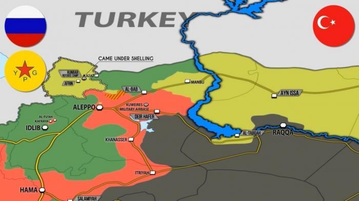 Сирия: «зоны безопасности» начали создавать ещё до переговоров в Сочи